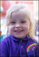 Pre-School Child at Over The Rainbow Nursery Ashton